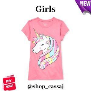 Girls' Magical Unicorn Top